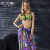 【全场包邮】范德安(Balneaire)热带印花 时尚披纱