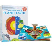 英文原版 The Ultimate Book of Planet Earth 精装 立体机关操作书 地球的奥秘 STE
