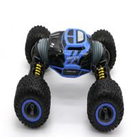 变形强力攀爬车超大遥控越野车RC四驱高速漂移赛车充电动玩具汽车 蓝色 四驱强爬