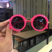 儿童墨镜防紫外线宝宝太阳眼镜男童女童小孩个性女孩眼睛框
