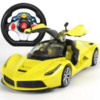 20181229171449121超大型遥控汽车可开门方向盘充电动遥控赛车男孩儿童玩具跑车模型