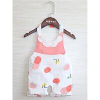 婴儿肚兜带脚宝宝连腿肚兜纱布新生儿护肚夏季防着凉薄款兜兜