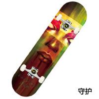 运动滑板 专业枫木四轮滑板 成人公路滑板 男女双翘滑板