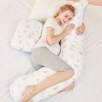 孕妇枕护腰侧睡枕托腹孕期多功能U型孕妇枕头神器抱枕夏小