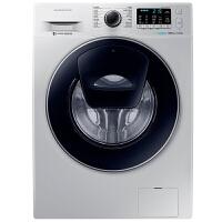 三星(SAMSUNG)8公斤滚筒洗衣机纤薄蝶窗安心添泡泡净变频全自动智能WW80K5210VS/SC