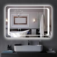 智能浴室镜子触摸屏led带灯防雾卫浴镜壁挂厕所洗手间卫生间镜子
