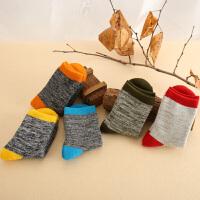 儿童袜子冬季加厚加绒冬男童女童厚中大童宝宝保暖毛圈毛巾袜