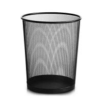 (PU RUN) 加厚垃圾桶防绣铁丝网办公室家用铁网纸篓垃圾袋