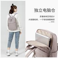 14寸��X包�p肩包女2020新款�r尚��s大容量��包休�e商�针��X背包