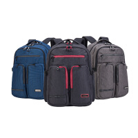 卡拉羊 双肩包减负电脑包4寸休闲背包中学生男女书包CX5997