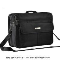 笔记本电脑包14寸15.6寸17.3寸手提单肩斜挎防震D213 黑色D213 17寸