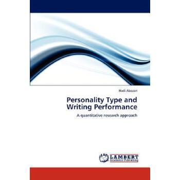 【预订】Personality Type and Writing Performance 美国库房发货,通常付款后3-5周到货!
