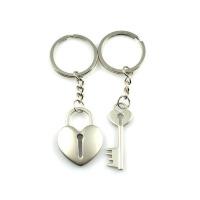 钥匙扣情侣 英文暗恋你钥匙扣我爱你创意钥匙链学生礼品可定制 情侣问号熊