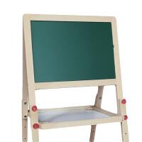 家用黑板6一14岁适用 儿童画板双面磁性小黑板支架式家用写字板画画涂鸦板可升降折叠