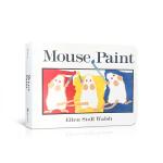【顺丰速运】英文原版绘本 Mouse Paint 老鼠作画 纸板书 吴敏兰 廖彩杏推荐主题书单 儿童色彩艺术启蒙 少儿