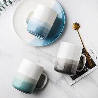 陶瓷杯子女创意马克杯个性北欧情侣水杯大容量家用办公室杯早餐杯