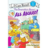 Berenstain Bears: All Aboard!, The贝贝熊:都上车了!(I Can Read,Leve