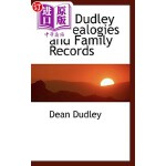 【中商海外直订】The Dudley Genealogies and Family Records