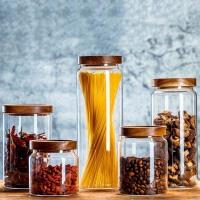 玻璃瓶子密封罐家用带盖陈皮桶干货中药储存罐茶叶五谷杂粮收纳盒