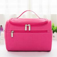 化妆包便携韩国女大容量旅行洗漱包大号随身收纳包简约可爱化妆袋
