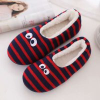 秋冬儿童棉拖鞋保暖防滑包跟7-8-9岁大男孩女居家用卧室内地板鞋