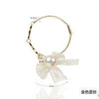 复古学生韩版简约 甜美蕾丝人造珍珠公主手链配饰