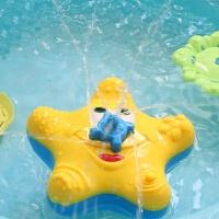 宝宝洗澡玩具男女孩电动喷水八爪鱼小轮船婴儿童浴缸漂浮戏水玩水