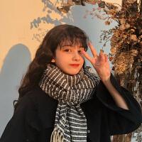 围巾女冬季韩版百搭日系文艺小清新针织加厚学生围脖可爱时尚潮流
