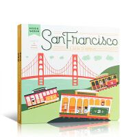 英文原版 San Francisco: A Book of Numbers 你好,世界系列之旧金山 英文原版进口 一本