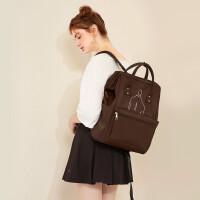 高中生书包女双肩包学生韩版旅行背包女甜美时尚潮流百搭