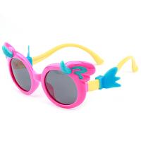 儿童偏光太阳眼镜小孩子墨镜硅胶舒适不伤眼男女童护目镜