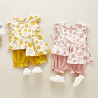 女童套装夏装童装童女宝宝时髦两件套
