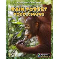 【预订】Rain Forest Food Chains 9781432938673