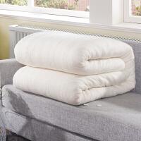 绚典家纺被子冬被加厚棉花被 春秋被棉絮垫棉花胎被芯 夏被纱网棉花胎