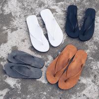 人字拖女夏季情侣学生凉拖鞋防滑皮拖韩版男女休闲夹脚沙滩鞋