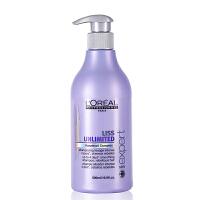 L'OREAL/欧莱雅 沙龙专家洗护系列顺柔润泽洗发水洗发露500ml 专业洗护 橄榄果油滋润洗发液
