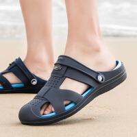 洞洞鞋夏季男士拖鞋室外凉拖潮流外穿沙滩鞋凉鞋