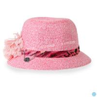 女儿童草帽 夏宝宝遮阳帽太阳帽沙滩帽凉帽