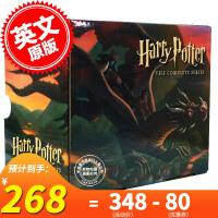 预售 英文原版 哈利波特全集 1-7 套装 美版 经典版 正版 Harry Potter Complete Serie