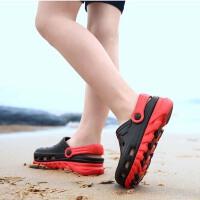 夏季新款儿童洞洞鞋小中大童男童沙滩鞋居家凉拖防滑软底拖鞋
