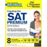 Cracking the SAT Premium Edition with 8 Practice Tests, 2015 SAT考试用书 优质版本 (含8套练习测试题) 2015年新版 英文原版