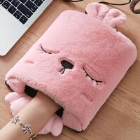 usb暖手鼠标垫发热加热垫暖手宝冬天季女生男办公室电脑鼠标套