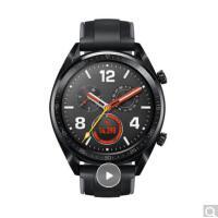 HUAWEI WATCH GT运动版 黑色 华为手表 (两周续航+户外运动手表+实时心率+高清彩屏+睡眠/压力监测+N