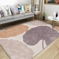 北欧简约地毯客厅现代沙发茶几地垫房间可爱卧室床边毯满铺榻榻米k