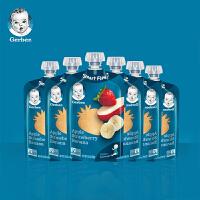 香港直邮 (19年5月31日)嘉宝2段 苹果草莓香蕉混合果泥99g*6支 海外购