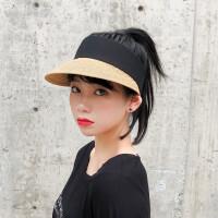 【遮阳必备】茉蒂菲莉 遮阳帽女 ins网红同款空顶草帽女夏季度假出游遮阳无顶太阳帽子潮人