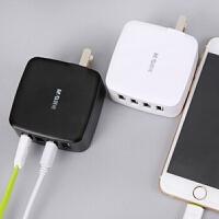 晨光智能大功率4口USB充�器(�色�S�C)