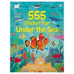 555 Sticker Fun Under the Sea 555张英文原版贴纸书系列 动物认知 海底世界场景 英文原