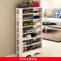 鞋架多层家用经济型简易多功能收纳家里人鞋柜简约现代防尘鞋架子