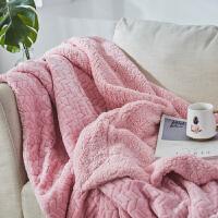 法兰绒仿羊羔绒珊瑚绒毯子毛毯被子加厚单人双人冬季保暖k